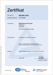 Kbe Berlin Iso 9001 2015 2018 2021 Deutsch